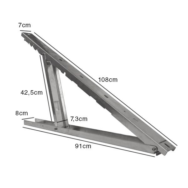 support aluminium