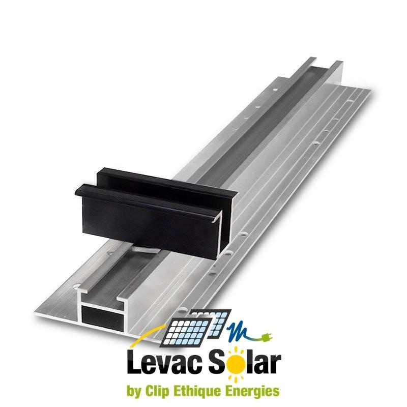 rail fixation panneau solaire